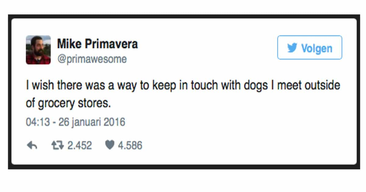 14x tweets over honden en katten!