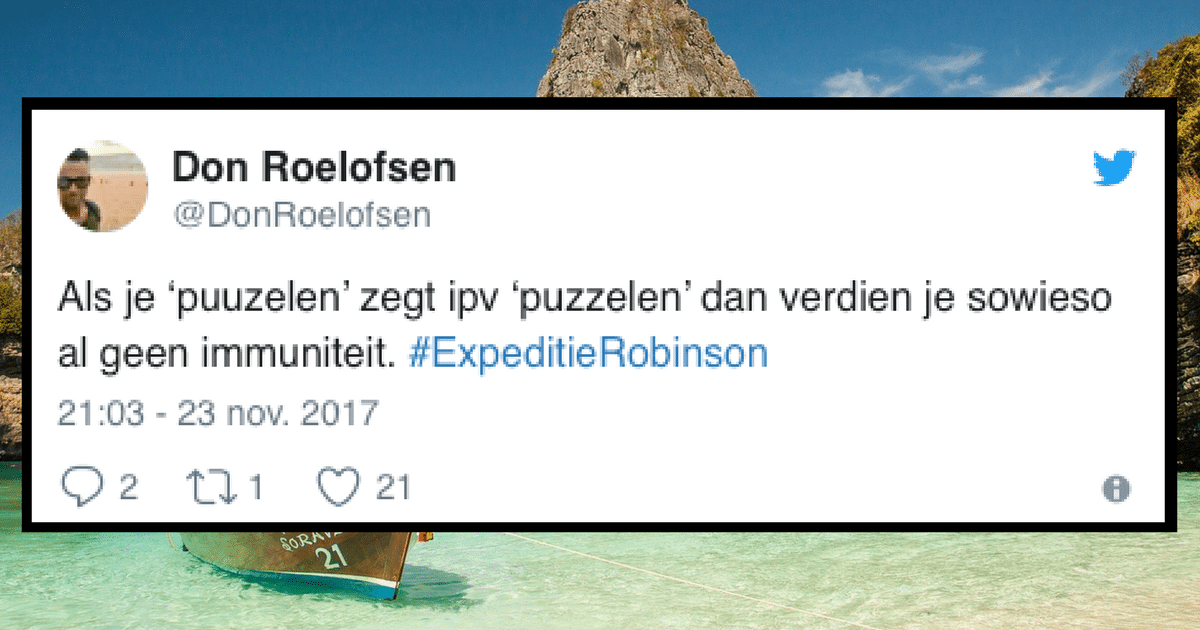 23 x Expeditie Robinson