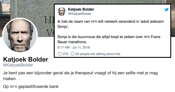 10x Katjoek Bolder!