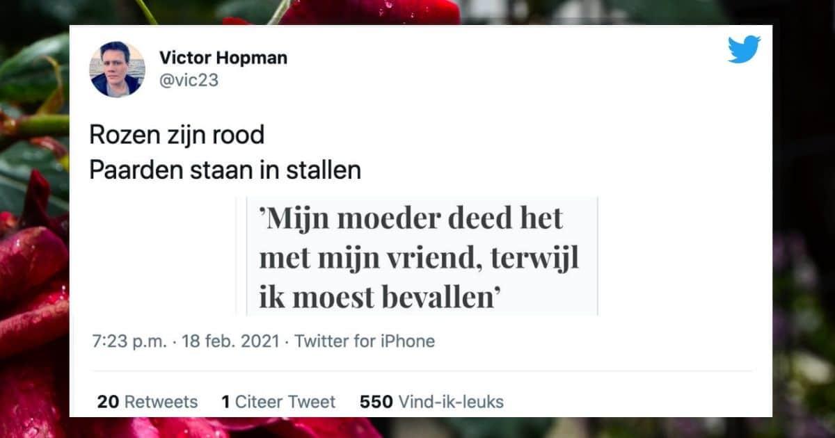 Tweet Victor Hofman